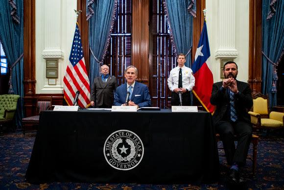 Governor Greg Abbott announces Phase 2 for reopening Texas.