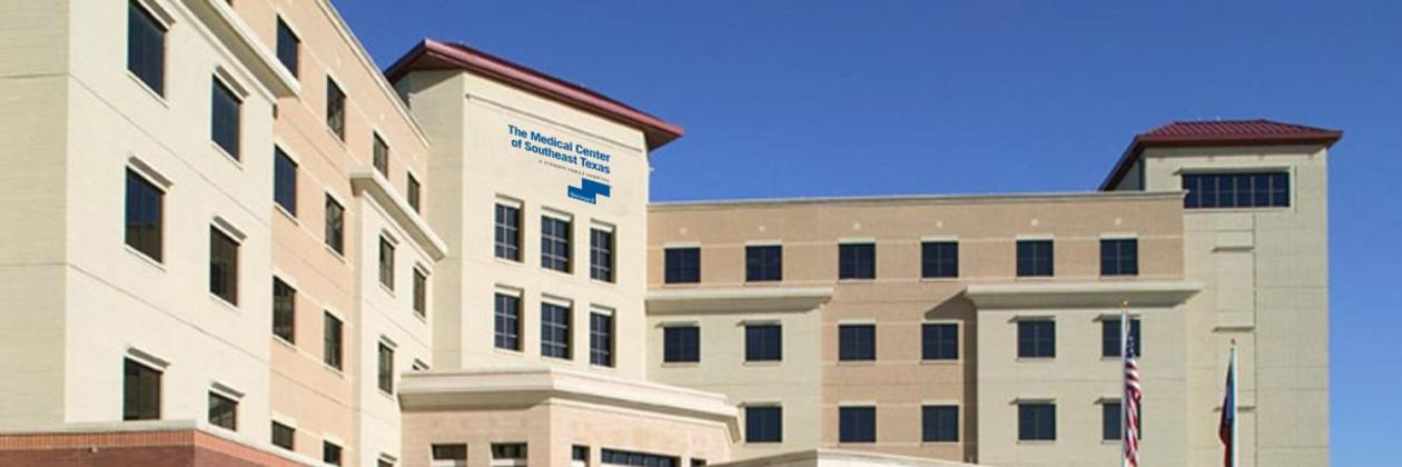 The Medical Center of Southeast Texas eases visitor restrictions at local campuses. (Steward photo - Twitter.com)