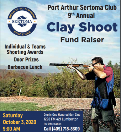 Port Arthur Sertoma Club holding ninth annual Clay Shoot
