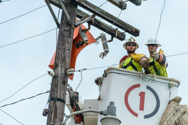 Entergy is monitoring Hurricane Delta and prepping for potential power outages.