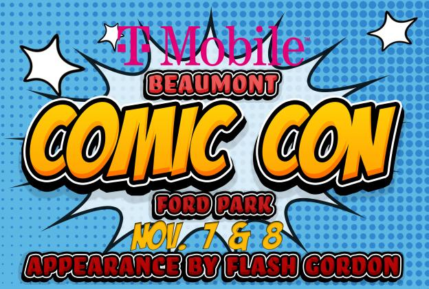 Comic Con returns to Ford Park Nov. 7-8.