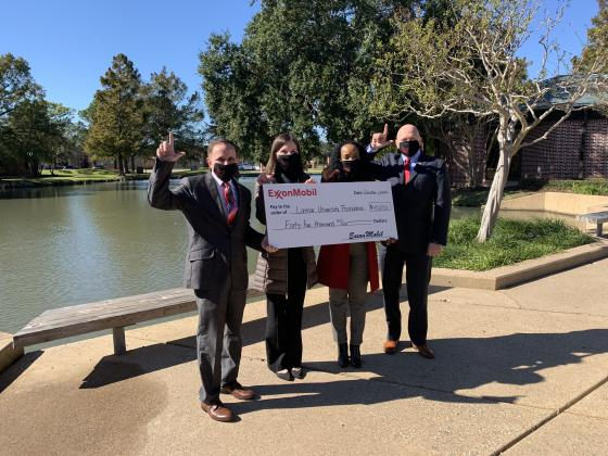 Lamar University Foundation receives $45k from ExxonMobil on Giving Tuesday.